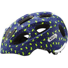 ABUS Youn-I Kask rowerowy Dzieci, blue mask
